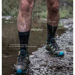 Sealskinz sokker Hiking Mid Mid