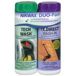 Nikwax Twinpack Tech Wash/TX-Direct Wash-In 2 x 300 ml