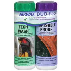 Nikwax Twinpack Tech Wash/Softshell Proof 2 x 300 ml