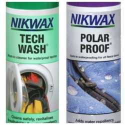 Nikwax Twinpack Tech Wash/Polar Proof 2 x 300 ml.