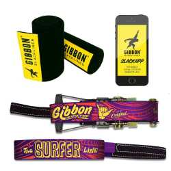 Gibbon Slacklines Surferline Treewear Set - 30 m